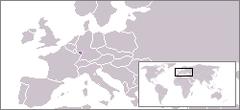 Tyskland efter Anden Verdenskrig, 1949, med Saar i lilla