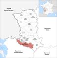 Locator map of Kanton Mignon-et-Boutonne 2019.png