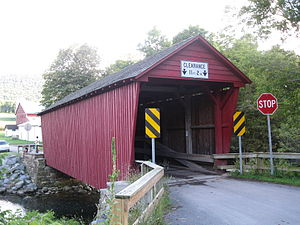 National Register of Historic Places listings in Clinton County, Pennsylvania - Image: Logan Mills Covered Bridge 4
