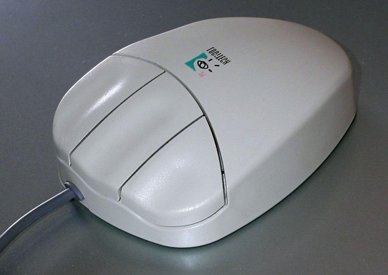 Une souris d'ordinateur vintage