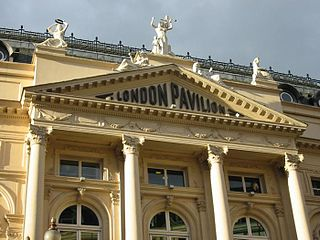 London Pavilion building on Piccadilly Circus, London