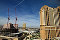 Looking over the Las Vegas strip from our hotel room (5202630353).jpg