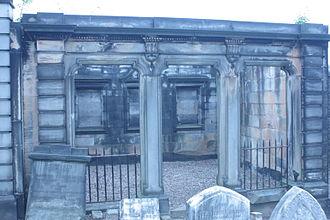 John Inglis, Lord Glencorse - Lord Glencorse's vault, New Calton Cemetery