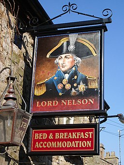Lord Nelson, York, Langho, Sign - geograph.org.uk - 698197