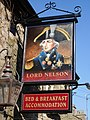 Lord Nelson, York, Langho, Sign - geograph.org.uk - 698197.jpg
