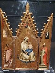 A Virgem com o Menino, Santos e Anunciação