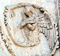 Lorenzo maitani e aiuti, scene bibliche 3 (1320-30) 11 angelo 02.jpg