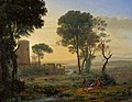 Lorrain - Landscape with the Flight into Egypt, c. 1646.jpg