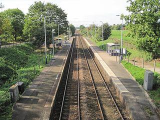 Lostock Gralam railway station