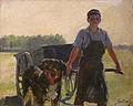 Lothar von Seebach-Charrette au chien.jpg
