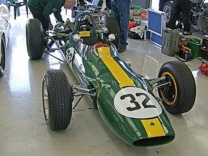 Lotus 32   The Lotus 32B, The One Off Tasman Series, 2.5 L