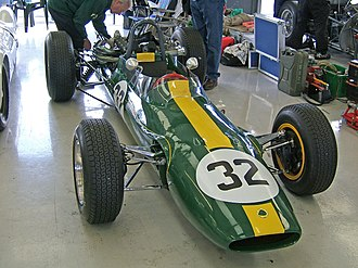 Tasman Series - Jim Clark won the 1965 Tasman Series with a Lotus 32B, the Tasman Series variant of the Formula Two Lotus 32, with a 2.5L engine in place of the 32's 1L unit.