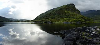Lough Leane lake in County Kerry, Ireland