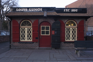 Louis Lunch Restaurant in New Haven, Connecticut