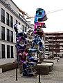 Love & Peace von Robert Gahr, Ria-Thiele-Straße, Belsenpark, Düsseldorf-Oberkassel (01).jpg