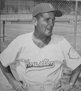 Houston Cougars baseball - Lovette Hill, ca. 1958