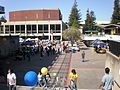 Lower Sproul Plaza during Cal Day 2009 2.JPG