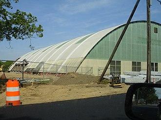 Lt. Joseph P. Kennedy Jr. Memorial Skating Rink - The rink, pending demolition in 2009.