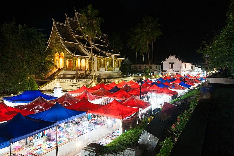 File:Luang Prabang Night Market 2016(3).jpg