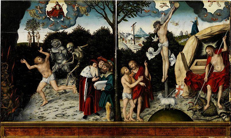 File:Lucas Cranach d.Ä. - Allegorie auf Gesetz und Gnade (Germanisches Nationalmuseum).jpg