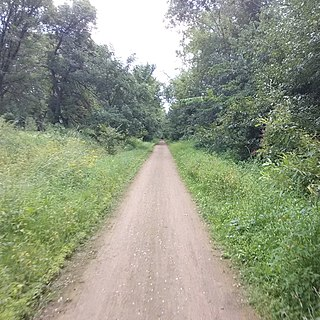 Luce Line Trail shared-use path in Minnesota