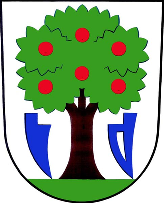 Luhačovice - Image: Luhačovice znak