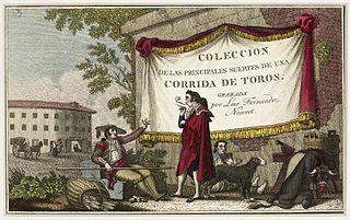 Colección de las Principales Suertes de una Corrida de Toros