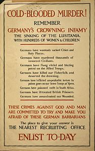 Lusitania propaganda poster 1915 LOC cph.3g11309.jpg