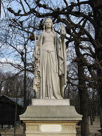 Reines de France et Femmes illustres - Image: Luxembourg Berthe ou Bertrade