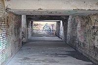 Lwówek Śląski stacja tunel podz