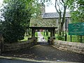 Lychgate, St Anne's Church, Fence - geograph.org.uk - 427398.jpg