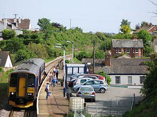 Lympstone Village railway station Railway station in the Devon, England