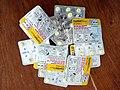 Médicament̠ coartem contre paludisme (Malaria) 01.jpg