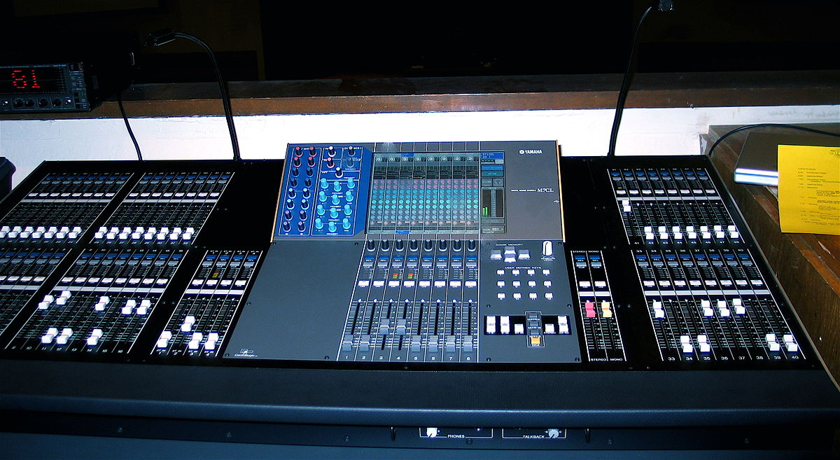 Digital Mixing Console Wikipedia