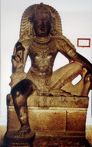 Shasta (deity) - Statue of Shasta, Chola Dynasty, Government Museum, Chennai, Tamil Nadu, India