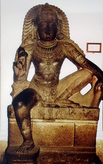 Aiyanar - Chola statue of Ayyanar, Chennai Museum.