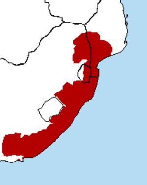 Maputaland-Pondoland-Albany Hotspot - Maputaland-Pondoland-Albany Hotspot