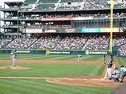 メジャーリーグの試合光景:イチロー対石井一久