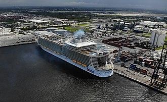 Port Everglades - Harmony of the Seas at Port Everglades