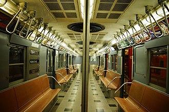 R30/A (New York City Subway car) - Image: MTA NYC Subway R30 8506 interior