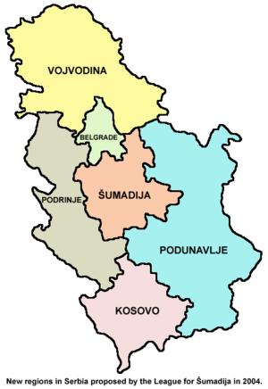3d karta srbije Linux Mapa Srbije, projekat 3d karta srbije