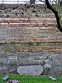 Maastricht2015, naamsteen voormalig couvre-face Louise bij stadswal Aldenhofpark.jpg
