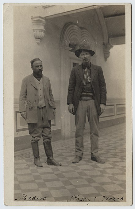 Pascual Orozco and Francisco I. Madero Madero (and) Pascual Orozco. (21879503251).jpg