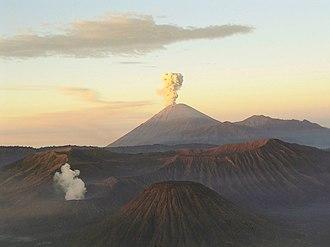 Semeru - Image: Mahameru volcano