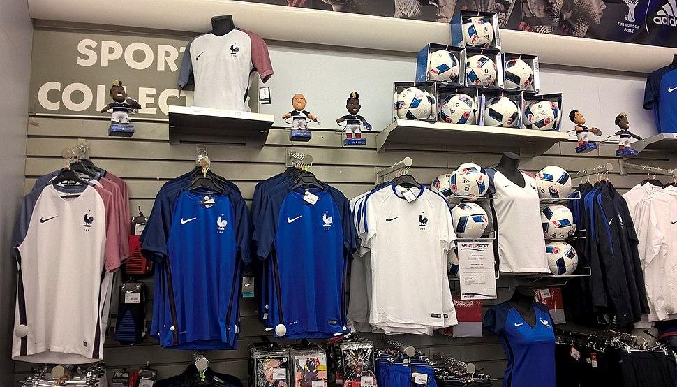 Maillots de la France à l'Euro 2016