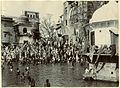 Main bathing Ghat, Hurdwar (Haridwar), 1880s.jpg