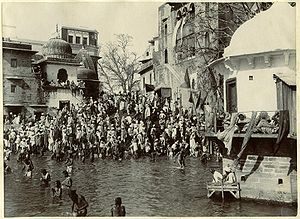Har Ki Pauri - Har Ki Pauri, in 1880s.