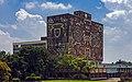 Main library building, Ciudad Universitaria, from SW.jpg