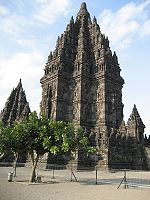 Main shrine of Prambanan temples to Shiva