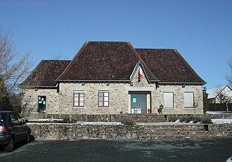 Le Chalard - The town hall of Le Chalard